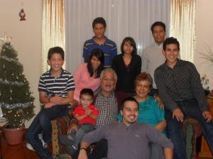 Los nietos y bisnietos de Chema y Carmen