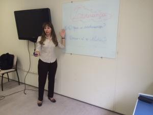 Tania Mendes, Periodista y Maestra de la Biblia