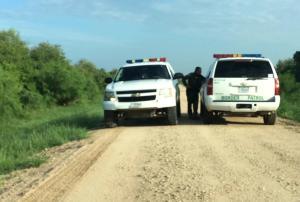 Patrullas EUA en la frontera con México