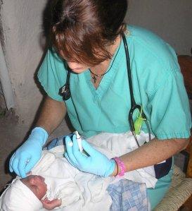 Brindando asistencia en las montañas de Haití, 2006