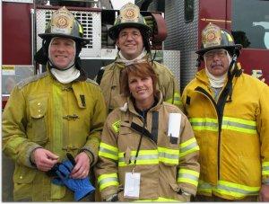 Shelly, la primera bombera en Wauwatosa, WI