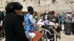 Mujeres judías orando en el Muro de los Lamentos