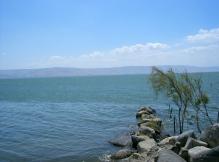 Mar de Galilea -Nos recuerda del grandioso evento cuando Jesús calmó la tormenta