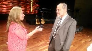 Cecilia Yépez en diálogo con el Dr. Miguel Núñez
