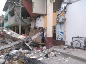 Ruinas y desolación