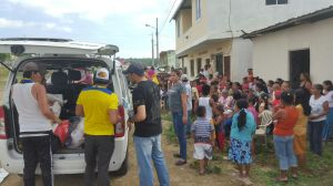 Equipo de voluntarios que colaboran con el llamado de Juan Carlos y Sandra