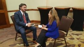 Dr. Armando Alducin & Cecilia Yépez, durante la entrevista